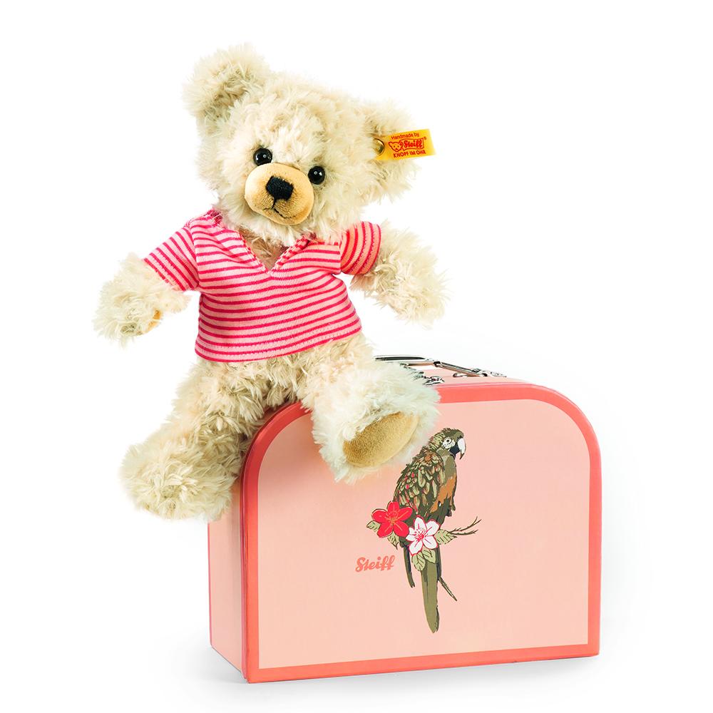 STEIFF德國精品泰迪熊 - Pia Teddy Bear 22cm (行李箱系列)