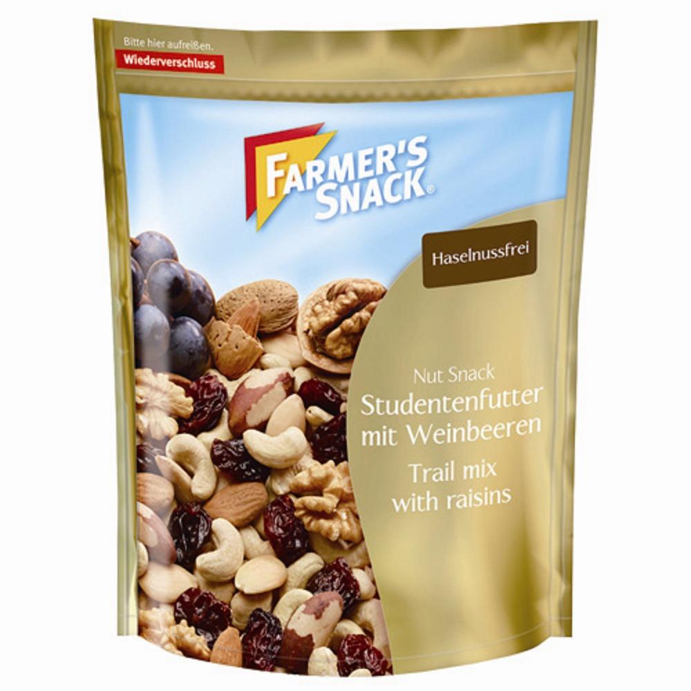 Farmer's綜合堅果葡萄乾(200g/包) x5包