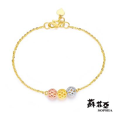 蘇菲亞SOPHIA - G LOVER系列流金歲月黃金手鍊