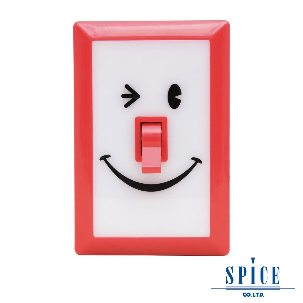 【SPICE】SMILE 復古紅 微笑開關 LED 燈