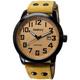 Audrey 歐德利 世界飛行 質感簡約風格腕錶(AUM5655)-咖啡/41mm product thumbnail 1