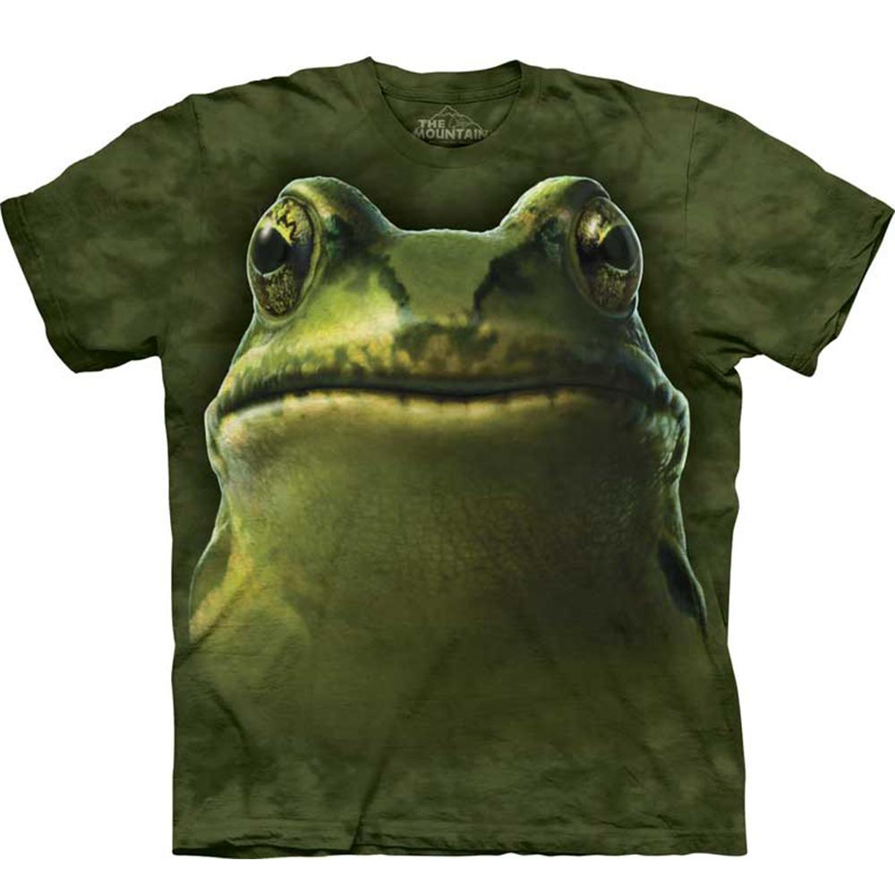 摩達客美國進口The Mountain青蛙頭純棉短袖T恤