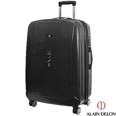 ALAIN DELON 亞蘭德倫 28吋旅者風情系列旅行箱(黑)