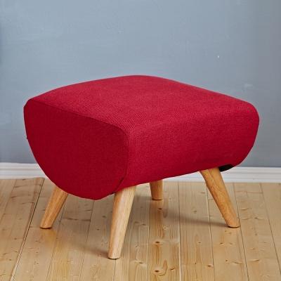 Bed Maker-安娜‧休閒椅凳/布沙發/日系經典沙發椅(二色)