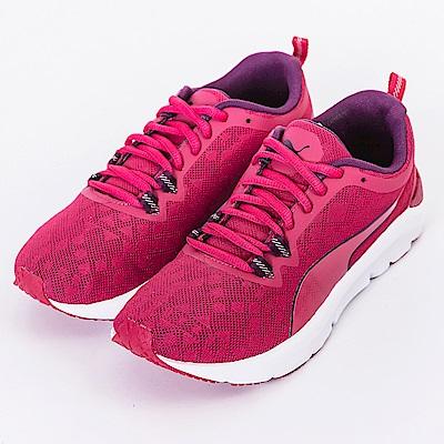 PUMA-Rush Wns女慢跑鞋-桃紅