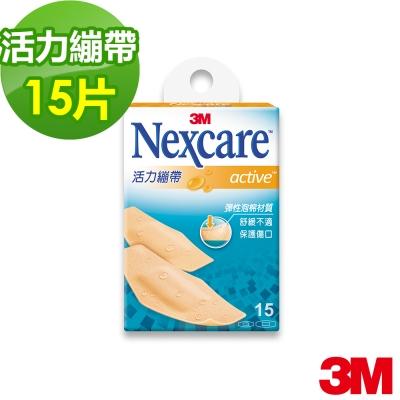 3M OK繃 - Nexcare 活力繃帶 綜合尺寸 (15片包)