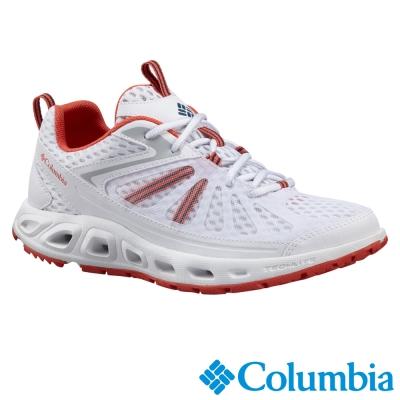 【Columbia哥倫比亞】女-水陸兩用鞋-白色 UBL 45260 WT