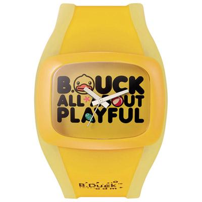 o.d.m. B. Duck系列黃色小鴨聯名腕錶-黃/46mm