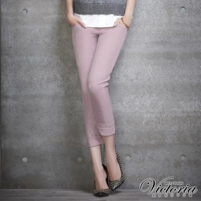 Victoria 3D剪裁BF色褲-女-淺紫