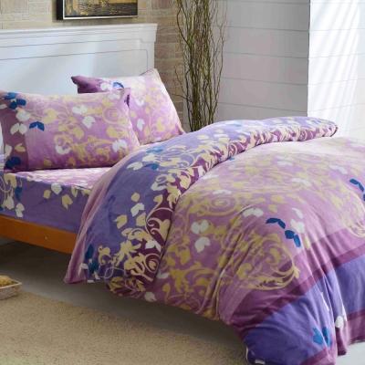 LAMINA 艾瑟爾河畔 法蘭絨鋪棉床包被套四件組(雙人)
