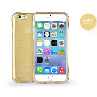 g-IDEA iPhone 6/6s Plus 5.5吋 透氣星點氣囊防摔TPU...