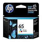 (活動加購)HP N9K01AA NO.65 原廠彩色墨水匣*加購優惠*