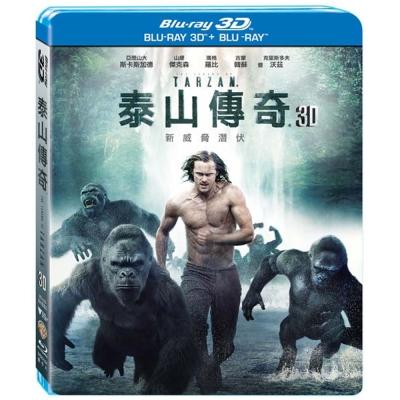 泰山傳奇-3D-2D-雙碟版-藍光-BD