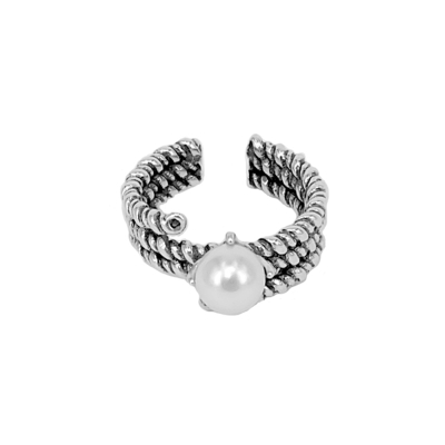 Ace-it-Boutique-單顆珍珠純銀戒指