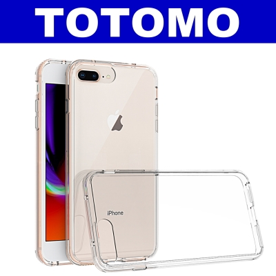 TOTOMO For:IPhone7/8 Plus 防摔保護殼(高顏質超透感硬背...