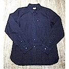 長袖襯衫 男裝 單口袋 深藍紅點點 - Levis