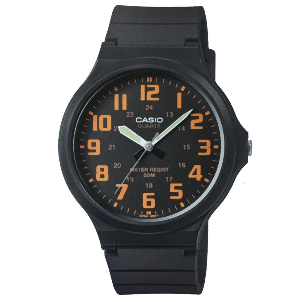 CASIO 超輕薄感實用必備大表面指針錶-(MW-240)-多色任選/45mm