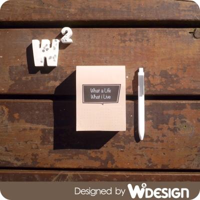 W2Design一日一作/Simple Life無時效365天日曆