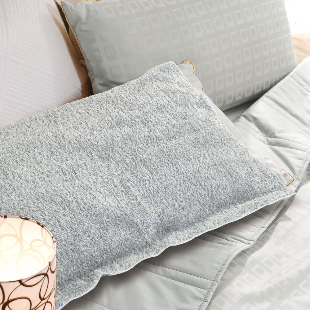 源之氣 竹炭超細纖維柔軟枕頭巾(2入)