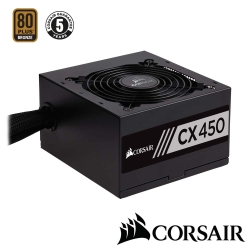 CORSAIR海盜船 CX450 80Plus銅牌 電源供應器