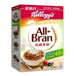 家樂氏 高纖麥麩早餐穀物(315g)