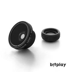 bitplay 魚眼鏡頭+微距鏡頭 2 in 1鏡頭組(組合式)