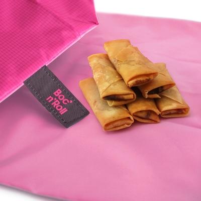 Roll eat 西班牙環保搖滾輕食袋-細方格系列(五色任選)