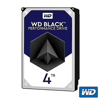 WD 黑標 4TB 桌上型 3.5吋 高效能SATA硬碟(WD4005FZBX)