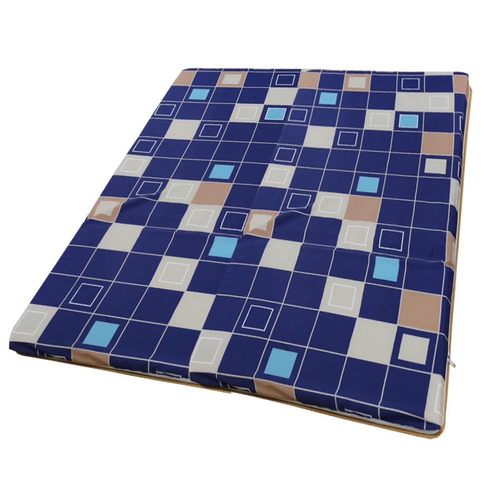 依文絲Aeneas 彩紋風格日式碳化便利床墊-加大6x6尺