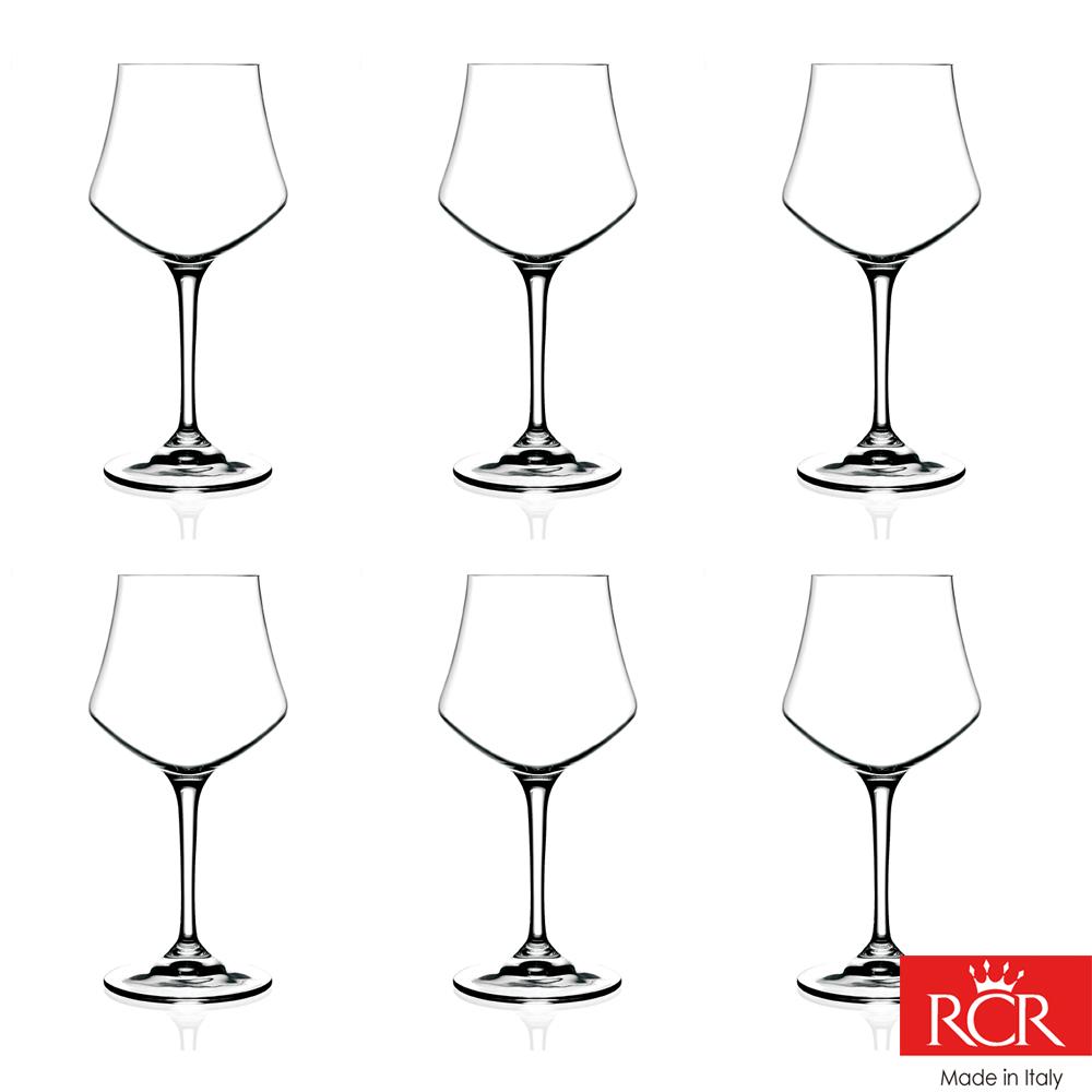 義大利RCR歐德無鉛水晶 紅酒杯 (6入)490cc