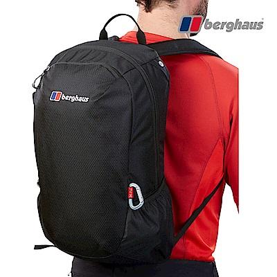 【Berghaus貝豪斯】透氣多功能20L背包T28X89-黑