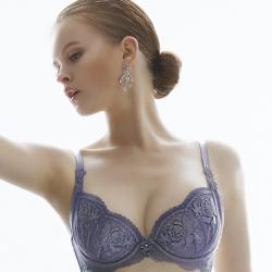 推Audrey-異戀托斯卡尼 大罩杯C-E罩內衣(性感紫)