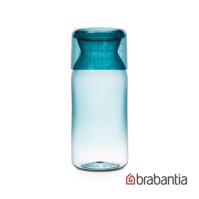 Brabantia 金屬藍食物儲物罐1.4L-薄荷藍
