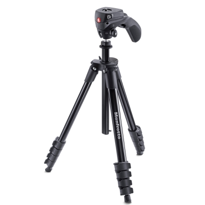 Manfrotto-MKCOMPACTACN-COMPACT系列五節腳架-155cm
