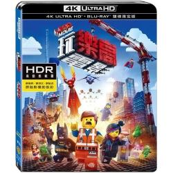 樂高玩電影 UHD+BD雙碟限定版 藍光 BD
