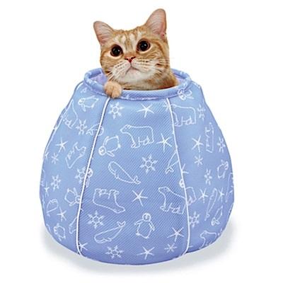 Marukan 貓咪避暑涼感床 水桶造型【CT-405】