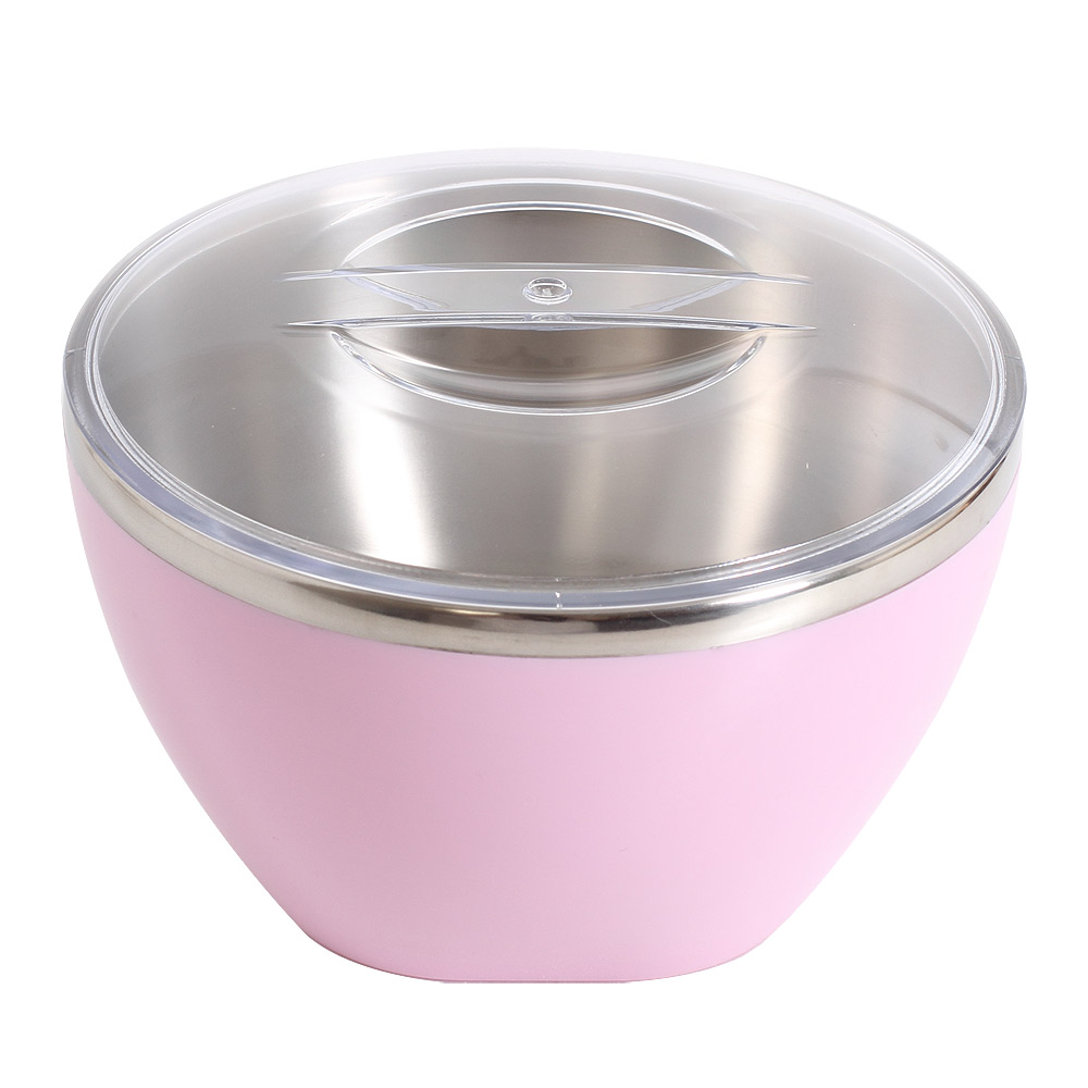 丹露 多用途晶彩隔熱碗-甜美粉