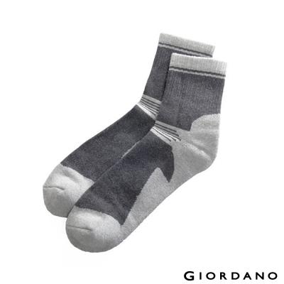 GIORDANO-跳色紳士襪-04-深花灰