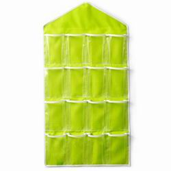 iSFun 居家收納 衣物雜貨16格掛袋 四色可選80x42cm