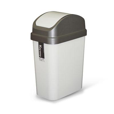 《創意達人》6公升附蓋垃圾桶(3入)