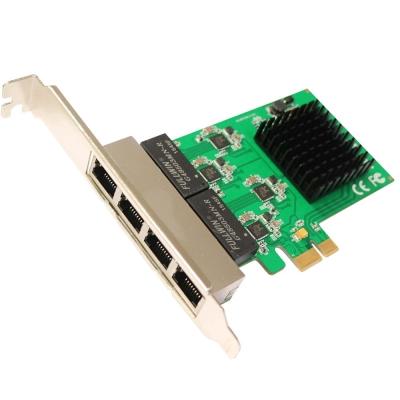 伽利略 PCI-E GIGA LAN 4 埠-擴充卡