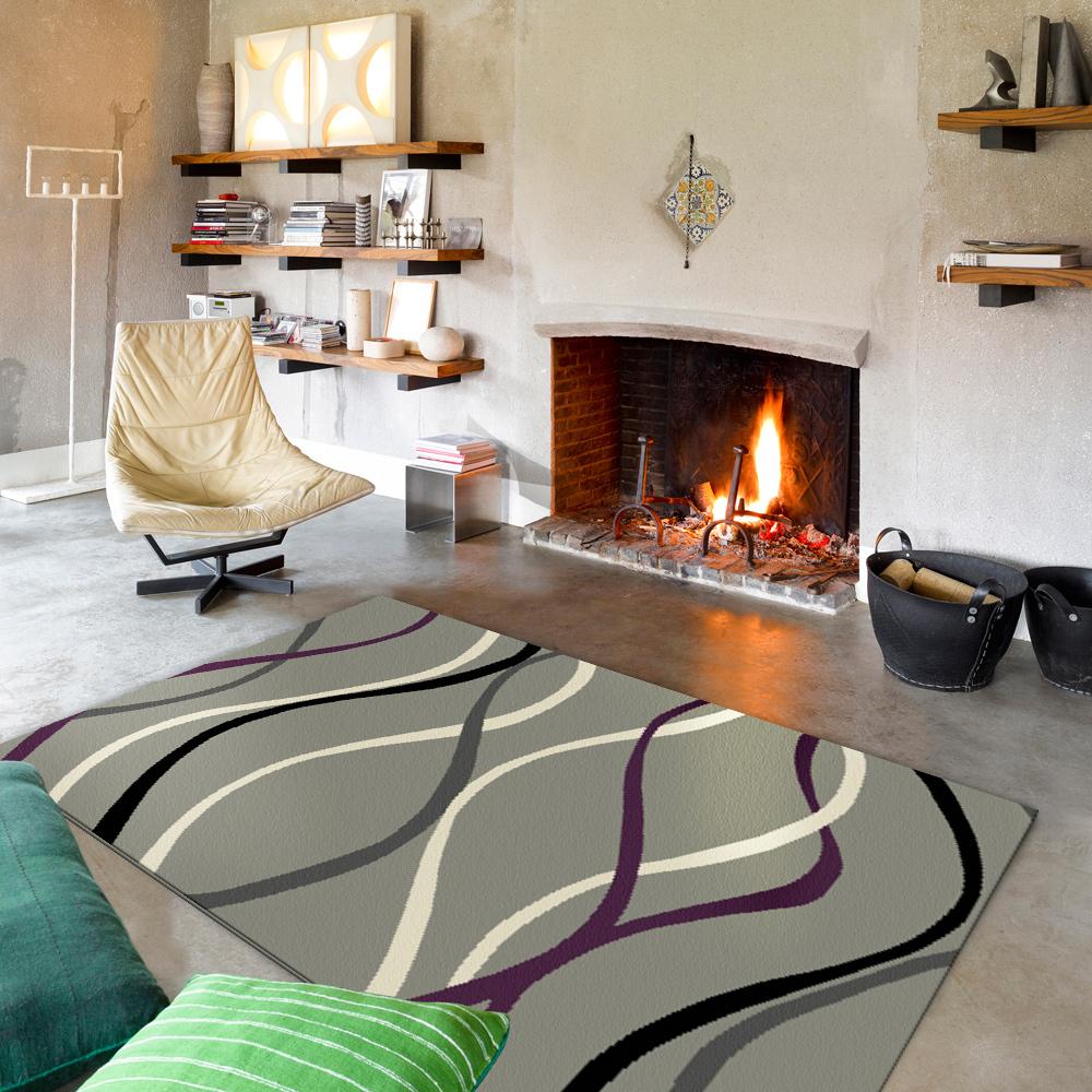 范登伯格 - 艾薇兒 多變視覺地毯 - 錦緞 (160 x 230cm)