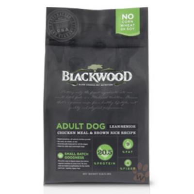 BLACKWOOD柏萊富-特調低卡保健配方(雞肉+糙米)30磅