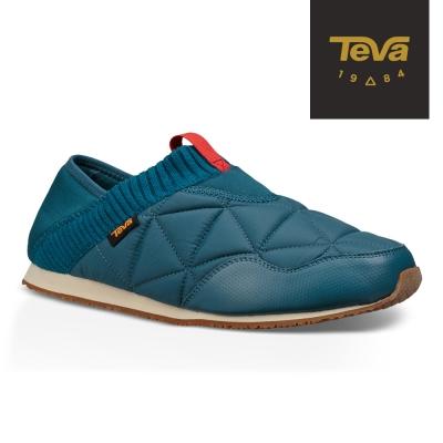 TEVA 美國-男 EmberMoc 二穿式輕量菠蘿麵包鞋 靛藍