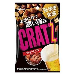 格力高 CRATZ卡滋脆餅黑胡椒培根風味(42g)