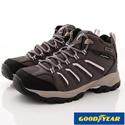 GOODYEAR-多功能健行鞋-SE2033咖啡(女段)
