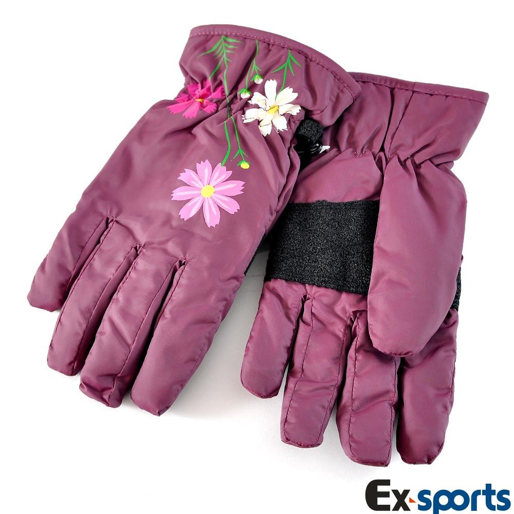 Ex-sports 防水保暖手套 超輕量多功能(女款-7206)