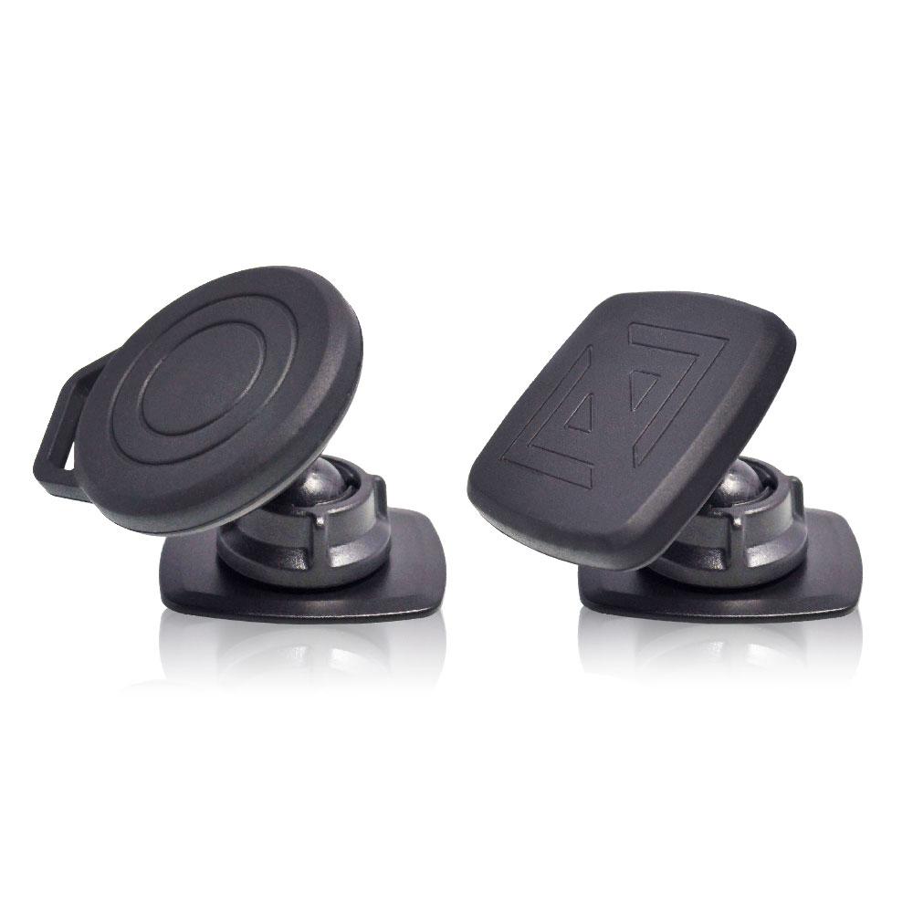 【安伯特】360度旋轉 黏貼式 磁吸手機架 磁吸 手機架 黏貼固定座 支架 車用