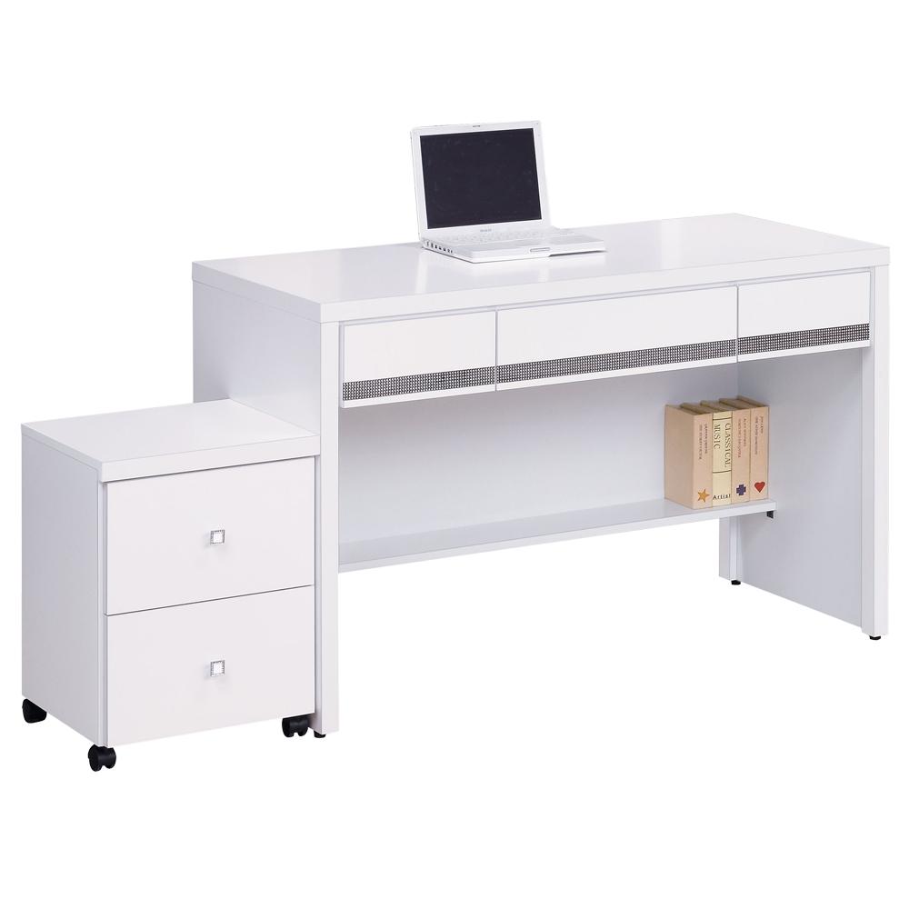 時尚屋 詠佳多功能4尺書桌 寬121cm 多色可選