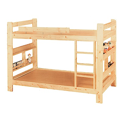AS-蘿拉3.5尺單人加大雙層床-102x209x147cm